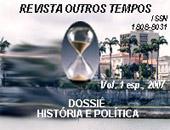 Visualizar Volume Especial (2007): Dossiê:  História e Política