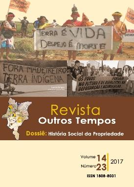 Visualizar v. 14 n. 23 (2017): História social da propriedade